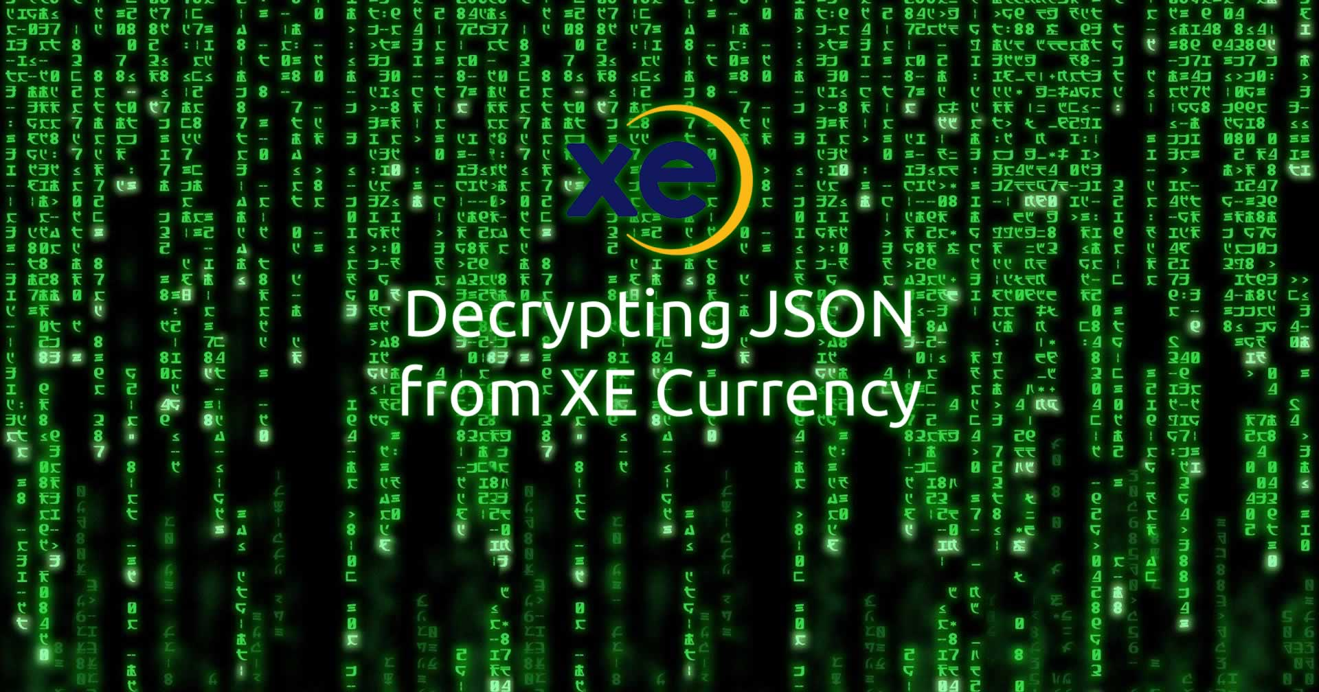 Forex rates json